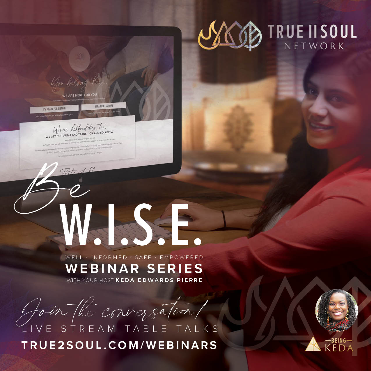 Be W.I.S.E. (Weekly Webinar Series)